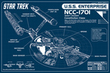 Star Trek Enterprise Blueprint