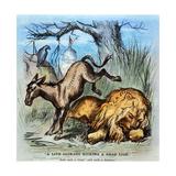 Democrat Donkey, 1870