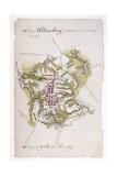 Buy Williamsburg: Map, 1781 at AllPosters.com