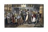 London: Bar Room, 1821