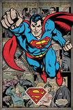 Superman - Comic Montage