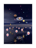 Planets of the Solar System Surrounded by Lotus Flowers and Butterflies The New Solar System Planets Jupiter Moons Rosette Nebula Space Art Poster Print Solar System Planets The Planets Nasa Solar System Super Space Explorer Solar System Planets Solar System and Trans-Neptunian Objects Solar System Solar System Planets planet jupiter