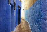 Narrow Street in the Medina (Old City), Tangier (Tanger), Morocco, North Africa, Africa