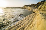 Buy Scala Dei Turchi at Sunset, Realmonte, Agrigento, Sicily, Italy, Mediterranean, Europe at AllPosters.com
