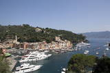 Buy View of Portofino, Liguria, Italy, Mediterranean, Europe at AllPosters.com