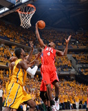 2014 NBA Playoffs Game 7: May 3, Atlanta Hawks vs Indiana Pacers - Paul Millsap Photographic Print