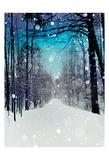 Snowhere Art Print
