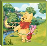 Disney Winnie the Pooh - Pooh Hula Canvas