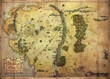 The Hobbit - Journey Map Giant Poster
