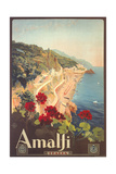 Buy Travel Poster for Amalfi at AllPosters.com
