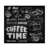 Buy Coffee on Chalkboard at AllPosters.com