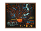 Buy Chalkboard Poster for Coffee Shop at AllPosters.com