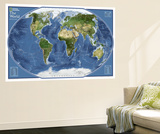 2011 World Explorer Satellite Map