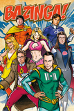 The Big Bang Theory - Super Heroes