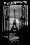 Eiffel Tower Through the Gates