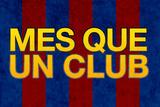 Mes Que Un Club Sports Poster