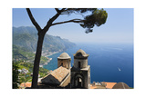 Buy Old Church with Amalfi Coast Vista, Italy at AllPosters.com
