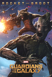 Guardians Of The Galaxy - Rocket & Groot