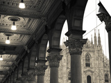 Buy Lombardy, Milan, Piazza Del Duomo, Duomo, Cathedral, Dawn, Italy at AllPosters.com