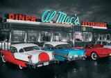 Al Macs Diner Giant Poster