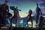 Guardians of the Galaxy - Group Landscape