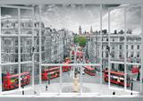 London Window Giant Poster