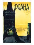 Praha CRS Art Print