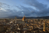 The Dome of the Cathedral of Santa Maria Del Fiore in Florence