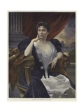 Buy Portrait of Madame La Cometesse De Kersaint at AllPosters.com