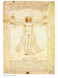 Buy Vitruvian Man, c.1492 at AllPosters.com