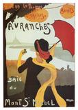 Avranches Art Print