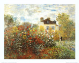 Buy The Artist's Garden in Argenteuil at AllPosters.com