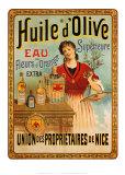 Huile D'olive Art Print