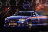 Nissan Skyline GT-R Poster
