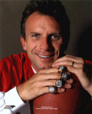 Joe Montana - With Superbowl Rings - ©Photofile
