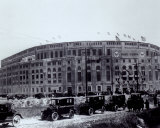 Yankee Stadium - outside/sepia - ©Photofile