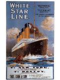 White Star Line Art Print
