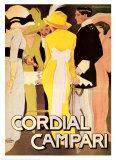 Cordial Campari Art Print