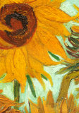 Buy Twelve Sunflowers (detail) at AllPosters.com