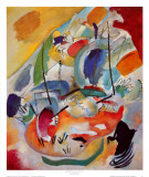 Improvisation No. 31, Sea Battle, c.1913 Art Print