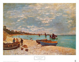 Beach at Sainte-Adresse