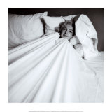 Marilyn in Bed Art Print