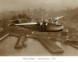 China Clipper, San Francisco, California, 1936