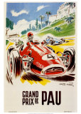 Grand Prix De Pau Art Print