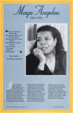 Buy American Authors of the 20th Century - Maya Angelou at AllPosters.com