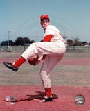 Robin Roberts - Posed, pitching