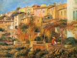 Terraces in Cagnes, c.1905