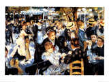 Buy Le Moulin de la Galette at AllPosters.com