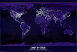 Earth by Night Poster