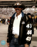 Richard Petty Portrait With Black Leather Jacket